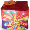 BATERIA HAPPY PANDA 16 efeitos 16mm multicolores