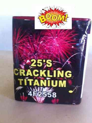 Strong Crack Titanium 25 TIROS 20mm