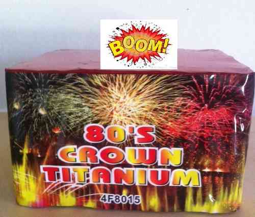 Grand Finale Crown Titanium 80 TIROS 20mm